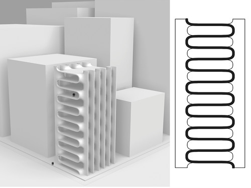 10 Floor x Tower x Continuous Surface