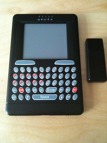 Wireless touchpad / keyboard combo