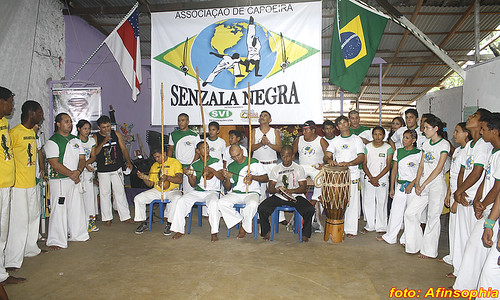 Capoeira Senzala Negra 01 por você.