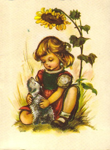 1950s Greeting Card - West German
