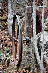 Trammel Mill Water Wheel