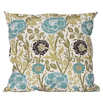 aqua thistle pillow Terrain