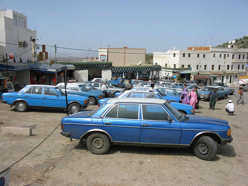 Moulay Idriss grand taxis