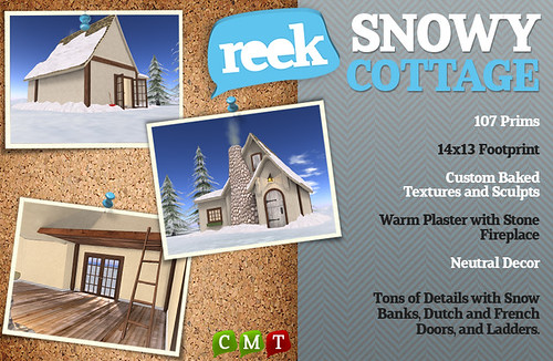 Reek - Snowy Cottage