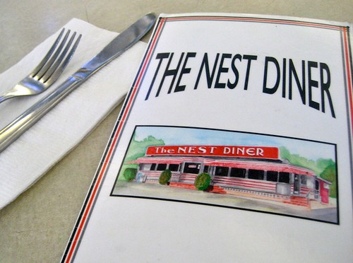 The Nest Diner Menu
