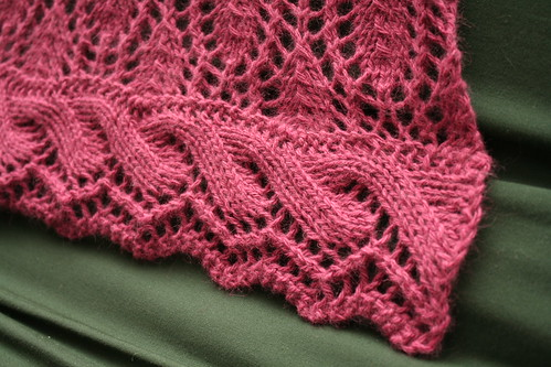 Hardenburgia Shawl - Edging