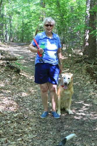 Bull Run Occoquan Trail - Mom and Sunny