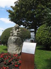 Rosalía Castro busto Rianxo (1)