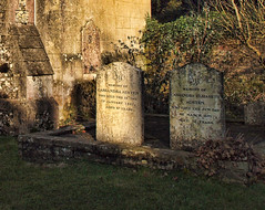 The graves of Jane Austen's mother and sister ...