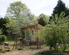 Chicken Coop in the Spring