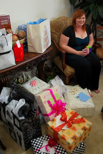 gifts and the bride