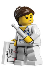 8683 Minifigures Nurse