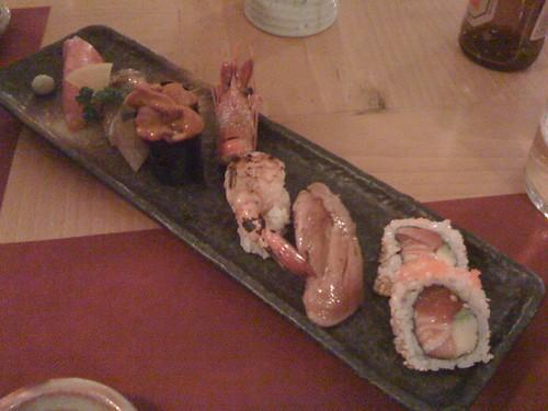 Shunka_Surtido de sashimi del chef