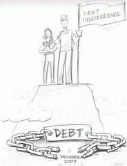 Debt Free Dec 2007