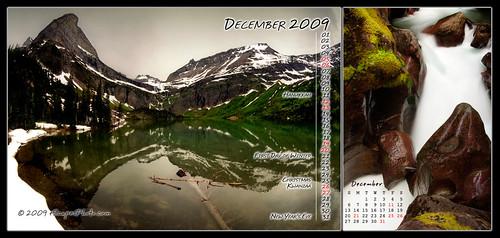 December 2009 Desktop Calendar