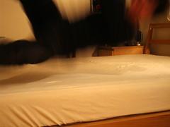 無印 タモ材のベッド