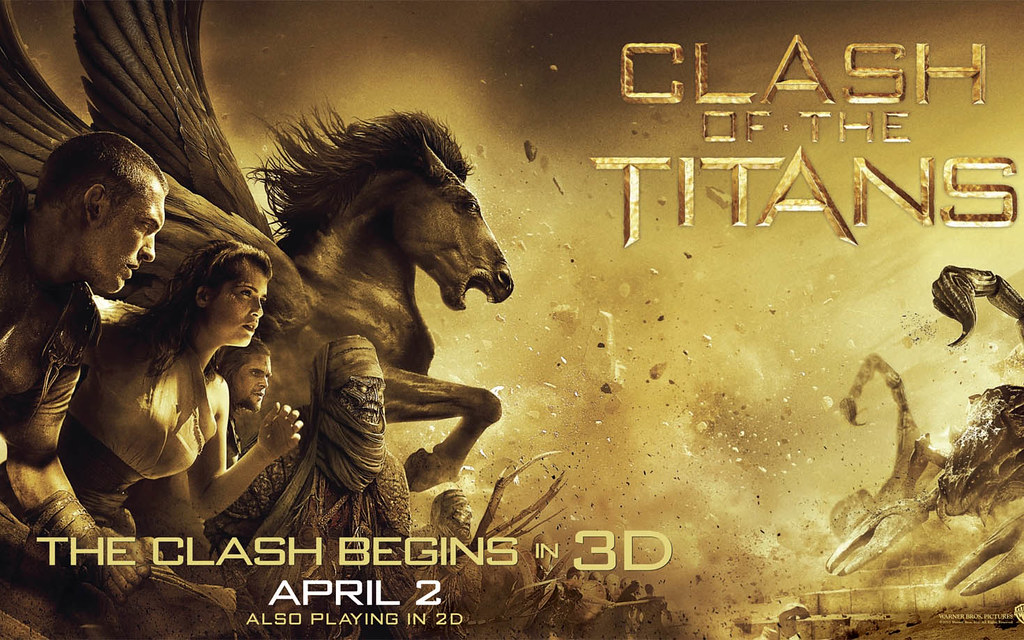 Clash of the Titans 2010 3D