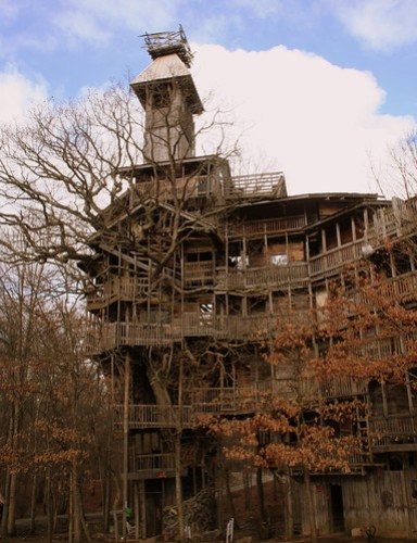 Behold: The Minister's Treehouse