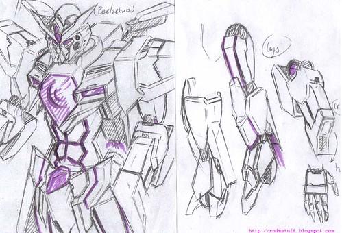 CB-0001G Beelzebub Gundam Base