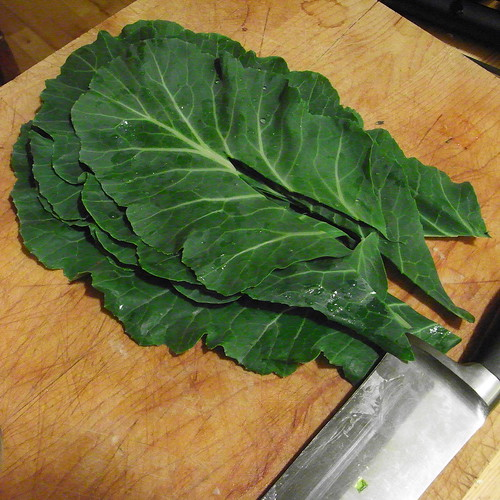 First Collards Of Spring