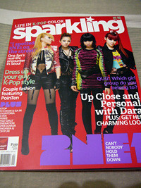 2NE1 cover-Sparkling magazine