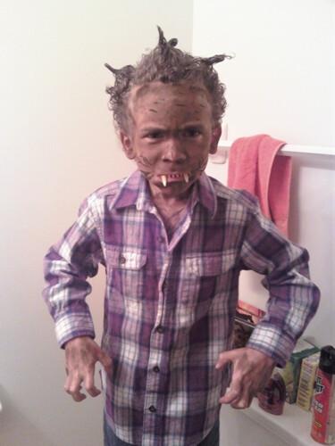 Werewolf Aidan!!!