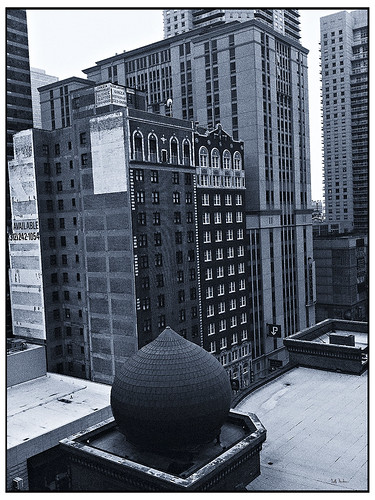 Chicago minaret  Polapan Blue