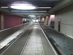 Long Walkway to Frontier's D Gate - St Louis