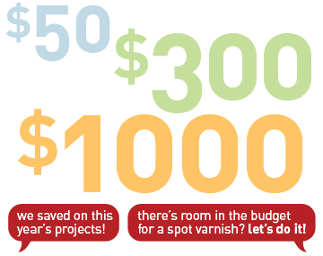 how to save on your next design project