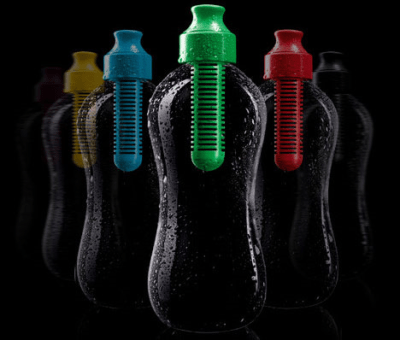 Karim Rashid's Water Booble BPA-free, Phtalates-free, Recyclable, self-filtering bottle