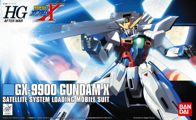 HGAW Gundam X - 01