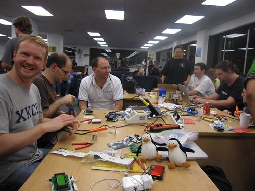 building aiko nodes at lca2010