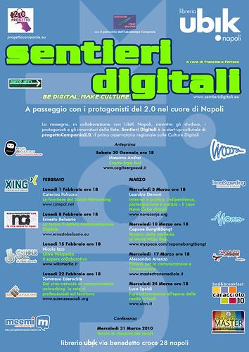 Sentieri Digitali Febbraio-Marzo 2010
