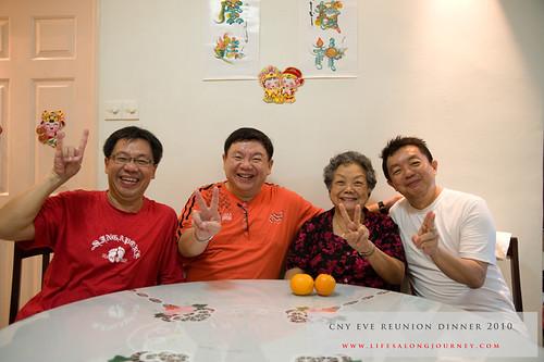 CNY Reunion Dinner 2010 #23