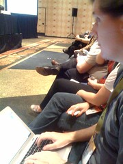 I bring to you the masterful blogging skills of one @louisgray at the #gettingstreamy panel