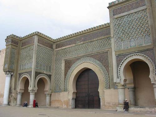 Meknes: Bab el-Mansour