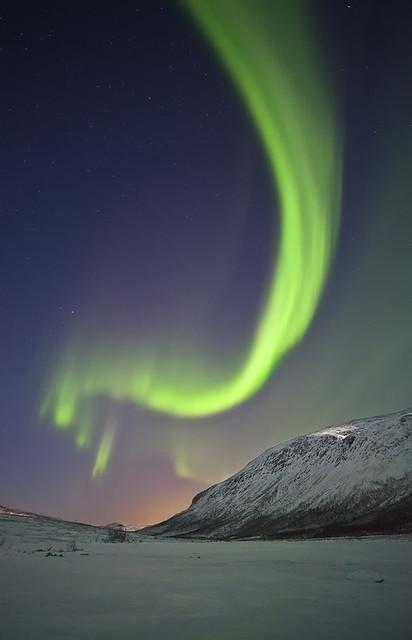 Aurora Borealis, Kattfjordeidet