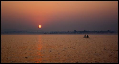 Sunrise Over India