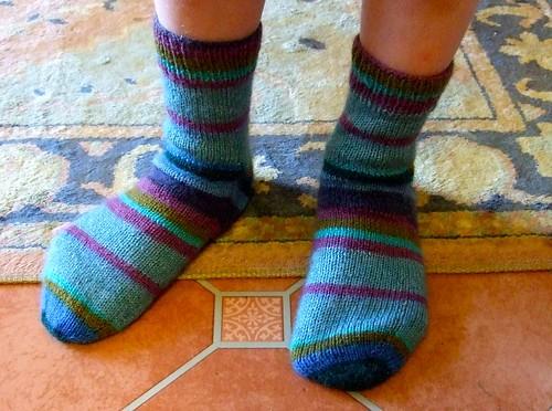 Willem's birthday socks