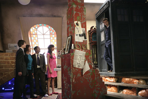 Sarah Jane's attic and the Tardis