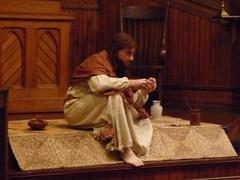 Bill Oberst Jr. in JESUS OF NAZARETH live perf...