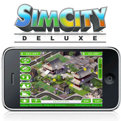 SimCity Deluxe coming summer 2010 for the iPhone