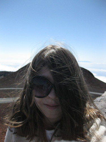 Windblown Sym on the Volcano