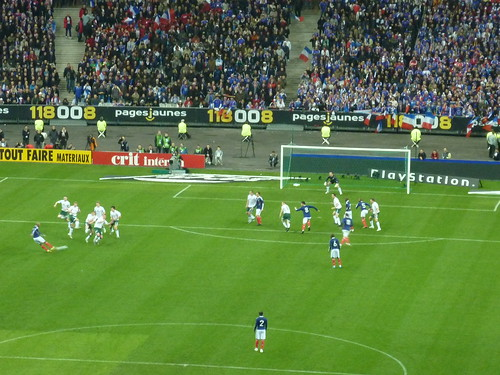 France -v- Ireland in Paris, World Cup 2010 Playoff