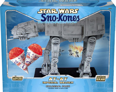 AT-AT sno kone machine