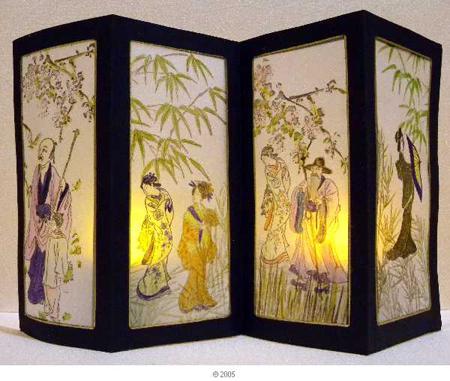 4-panel screen light
