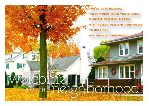 Keller Williams postcard - Simon Shingleton