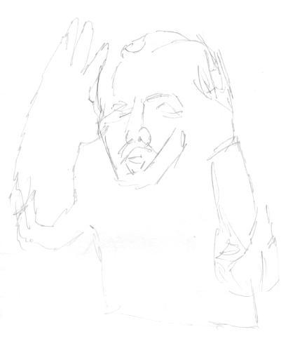 Sketching Jerzy, part 2