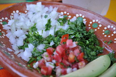 Mexican garnishes