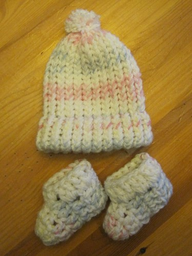 Hat & Bootie set for beshneela